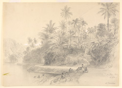 The Lake, Kandy (Ceylon). 21 April 1870